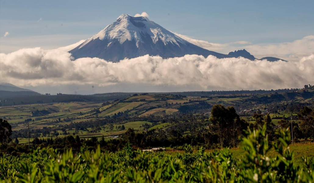 Mountain in Ecuador