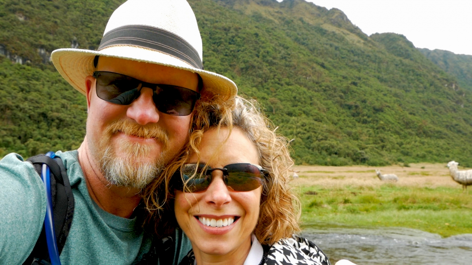 Amelia And JP at Lower Cajas National Park Cuenca Ecuador
