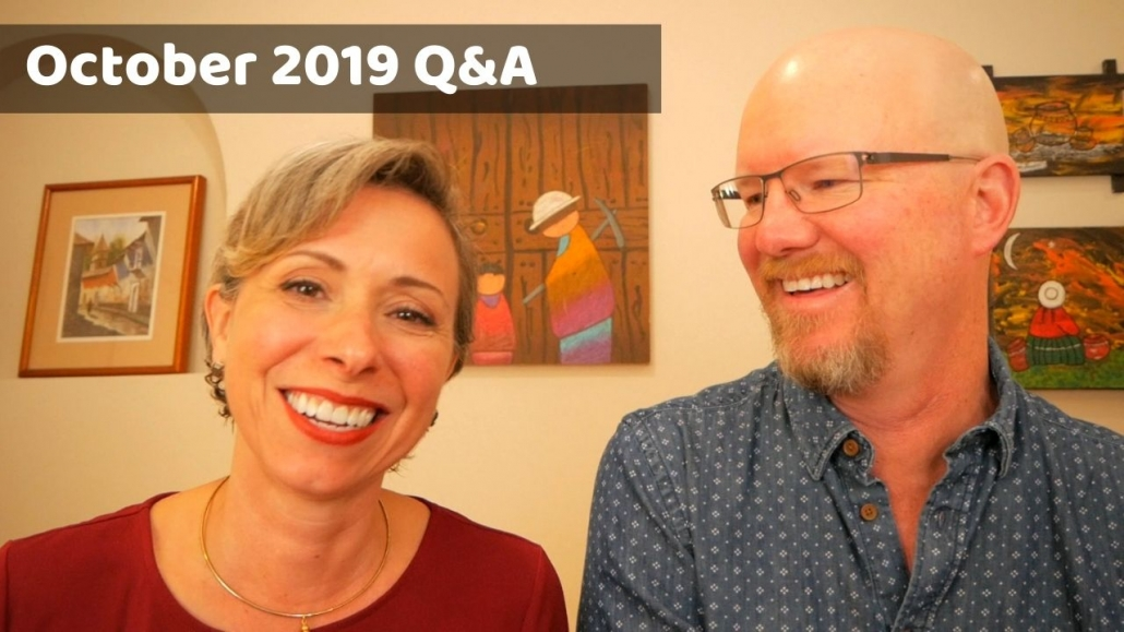 Amelia And JP Oct 2019 Q&A