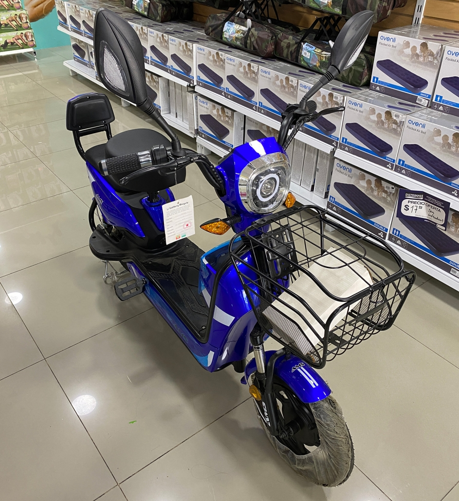Chinese Jinying Electric Scooter Ecuador