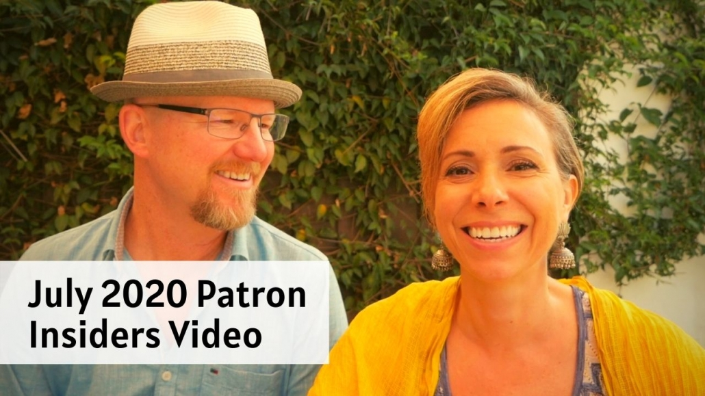 Amelia And JP Insider Video July 2020