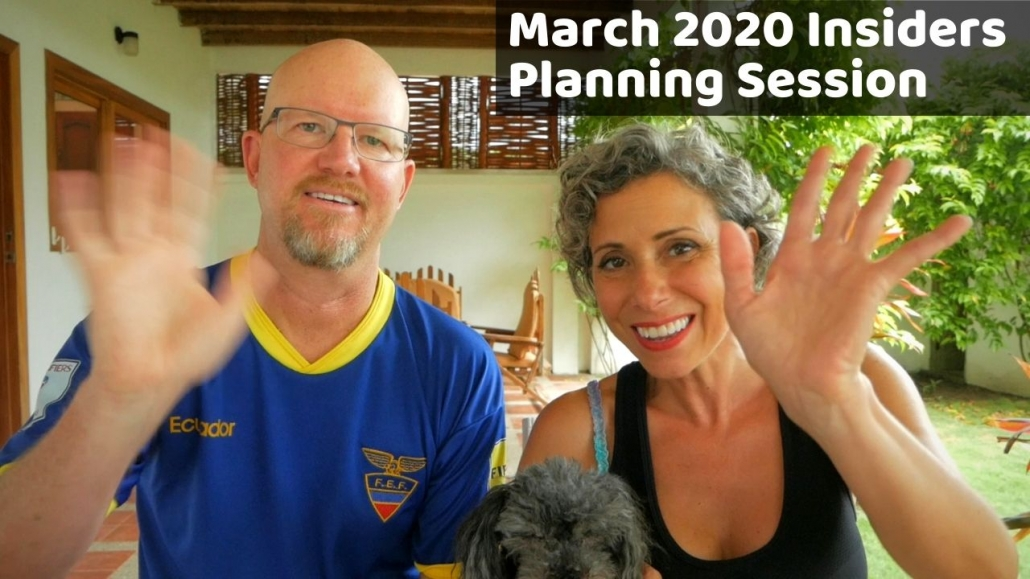 Amelia And JP Insider Video March 2020
