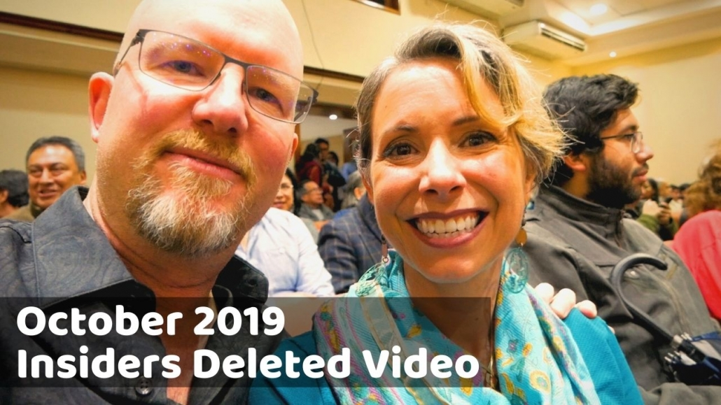 Amelia And JP Insider Video Oct 2019
