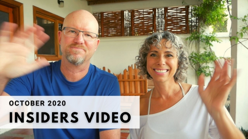 Amelia And JP Insider Video Oct 2020