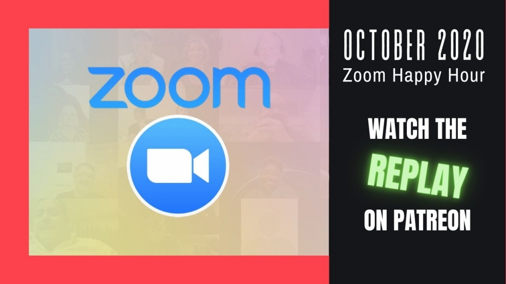 Amelia And JP Zoom Happy Hour Replay Oct 2020
