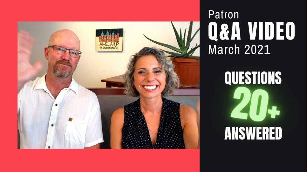 Q&A Video March 2021