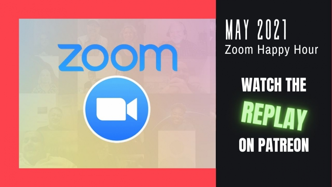 Amelia And JP Zoom Happy Hour Replay May 2021