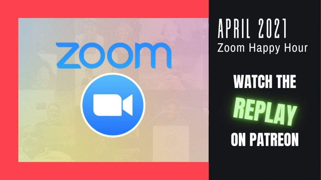 Amelia And JP Zoom Happy Hour Replay April 2021