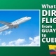 FAQ 62 - What About DIRECT FLIGHTS from GUAYAQUIL to CUENCA