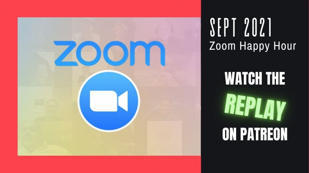 Amelia And JP Zoom Happy Hour Replay Sept 2021